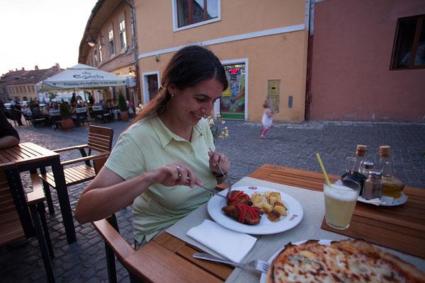 12.06. Sibiu, Abendessen