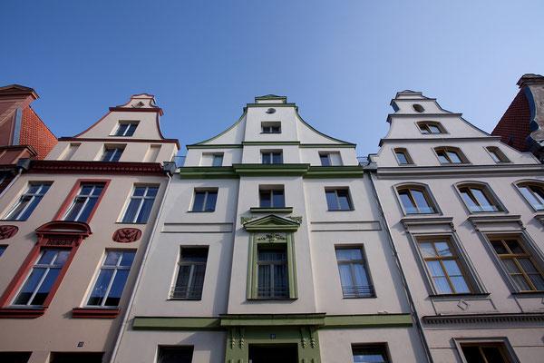 23.7. Stralsund - Mittelalterliches Giebelhaus in der Frankenstraße.