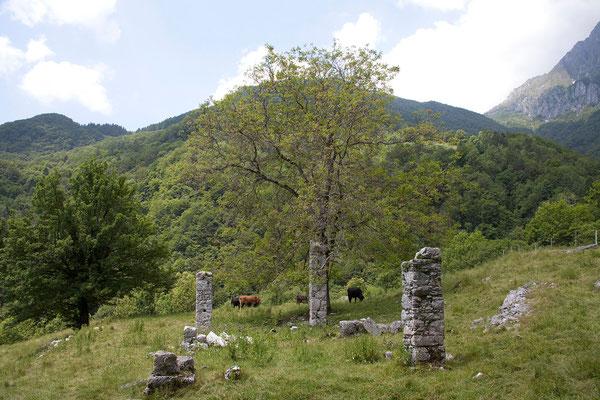 Unterwegs zur Javorca Kirche