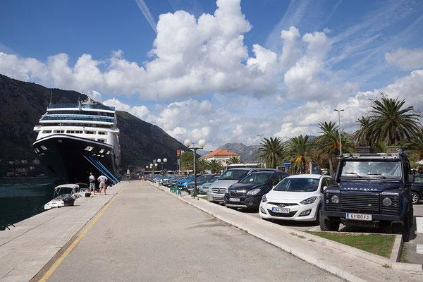 18.9. Neben Dubrovnik, ist Kotor DAS Ziel für Kreuzfahrtschiffe in der Region.