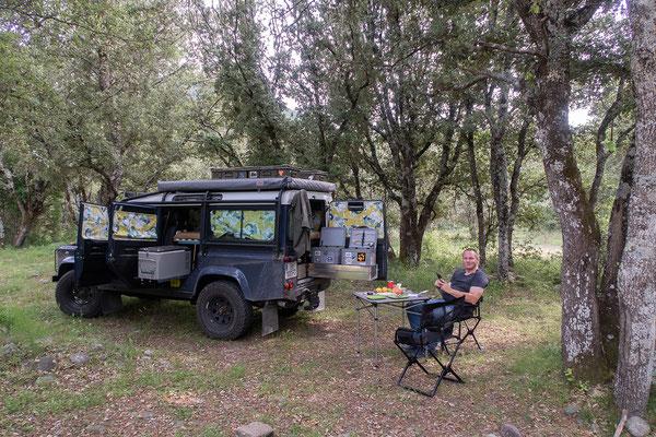 03.06. Wir übernachten schön ruhig am Camping Campita in Francardo