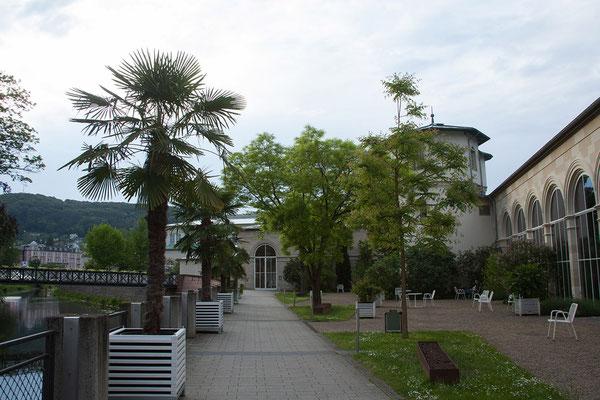 Promenade an der Fränkischen Saale