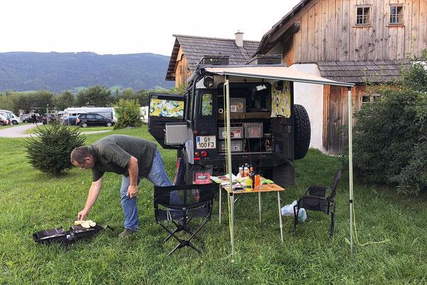 27.07. Camping Im Dörfl, Irdning