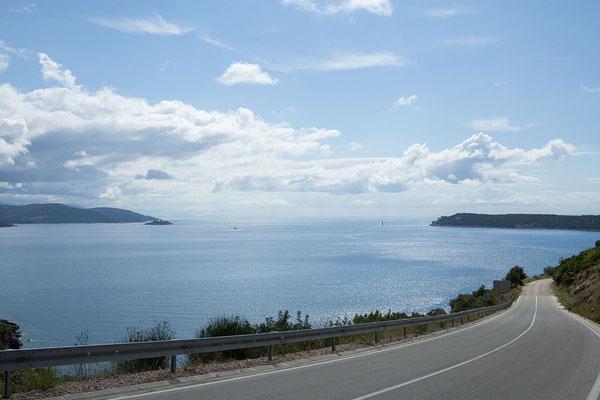 20.09. Unser nächstes Ziel ist das Kap Oštro auf der Halbinsel Prevlaka.