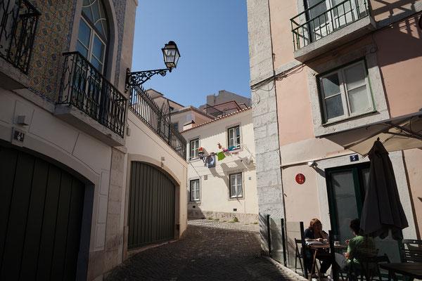 15.09. Wir erklimmen den Berg zum Castelo São Jorge