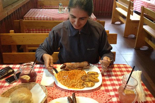 18.06. Apuseni: auch heute essen wir wieder bei Mama Uța