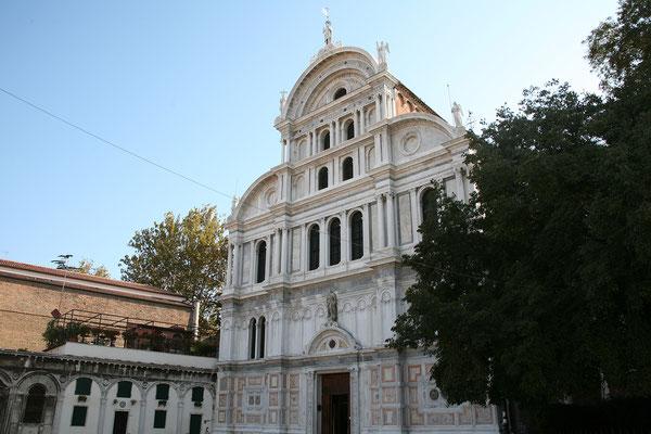13.09. Bei San Zaccharia starten wir unseren Spaziergang durch das Castello - Viertel.