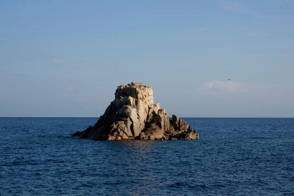 13.09. Die Nacht verbrachten wir in den îles de Toro.