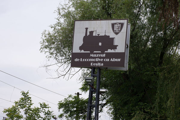 12.6. Reșiţa - Wir statten dem Lokomotivenmuseum einen Besuch ab.