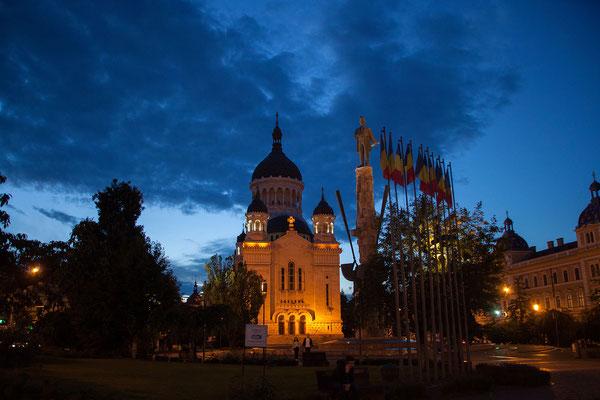 15.6. Cluj - Catedrala Ortodoxă & Piaţa Avram Iancu