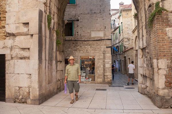 22.09. Seit 1979 zählt die Altstadt Splits zum UNESCO Weltkulturerbe.