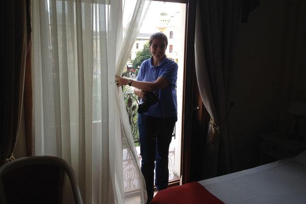 11.6. Oradea: Im Grand Hotel Astoria.