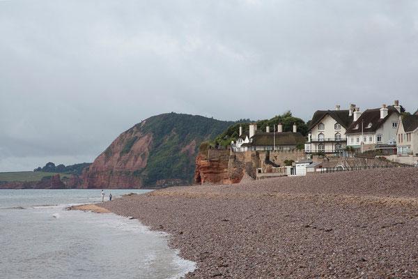 13.09. Sidmouth an der sog. Jurassic Coast