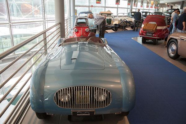 25.09. Museo Nicolis - Natürlich sehen wir auch die Dauerausstellung an.