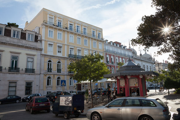 14.09. Die Casa do Príncipe liegt im 1. Stock eines Palasts aus dem 19. Jh.