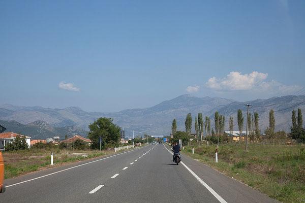 15.9. Wir sind wieder unterwegs in Richtung Montenegro
