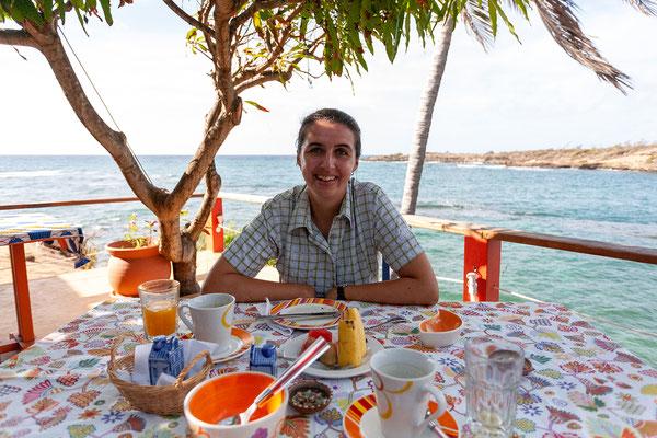 Cabier Ocean Lodge, Frühstück