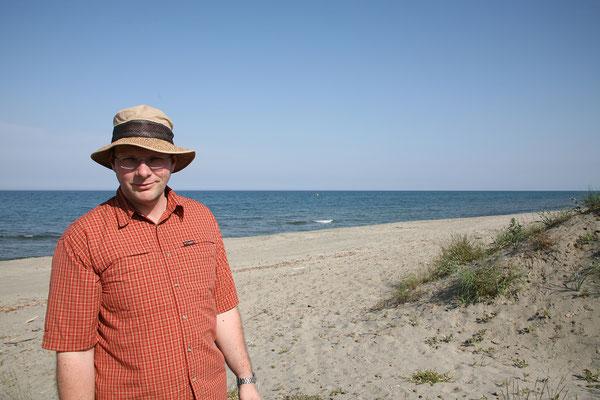 22.5. Zum Übernachten steuern wir wieder die Küste an: Camping Europa Beach, Querciolo