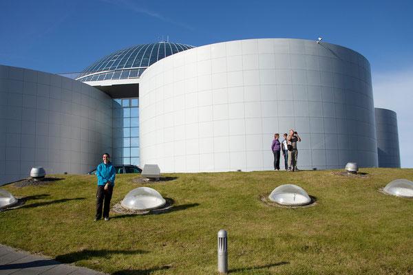 14.8. Perlan, Reykjavíks Warmwasserspeicher