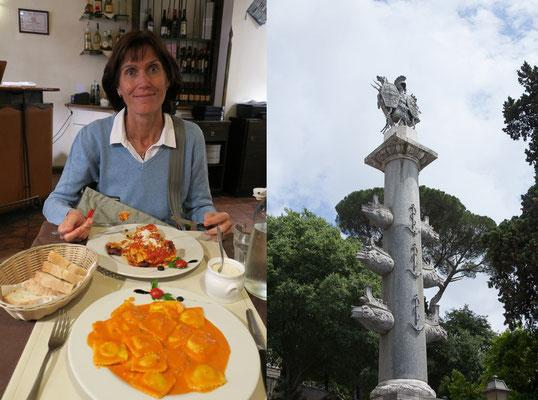 19.05. Mittagessen in der Via della Croce