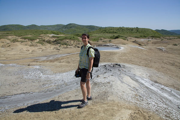 07.06. Vulcanii Noroioși - anders als auf Island liegt die Temperatur um 30°C