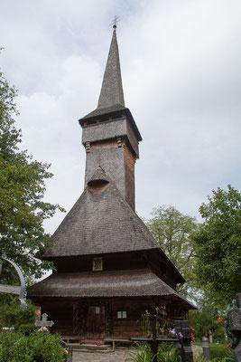 18.6. Die alte Holzkirche Cuvioasa Paraschiva wurde 1770 erbaut.