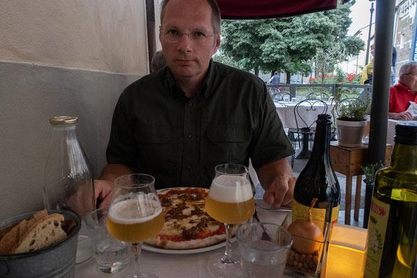 07.06. Lucca: Abendessen im Gli Orti di Via Eisa