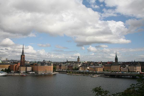 Montelius Vägen, Riddarholmen & Gamla Stan