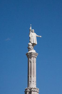 25.09. Kolumbusmonument auf der Plaza de Colón