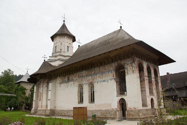 17.6. Moldoviţa wurde, gemeinsam mit sieben anderen Klöstern der Region, in die Liste des UNESCO Weltkulturerbes aufgenommen.
