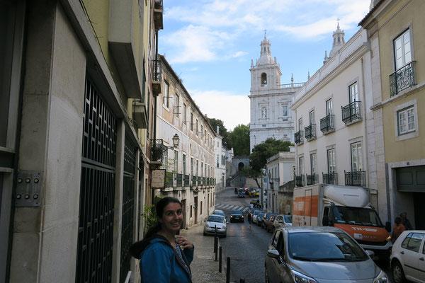 14.09. Unser nächstes Ziel im Graça Viertel ist das Mosteiro de São Vicente de Fora.