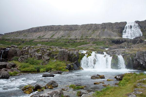 8.8. Westfjorde - Dynjandi Wasserfall