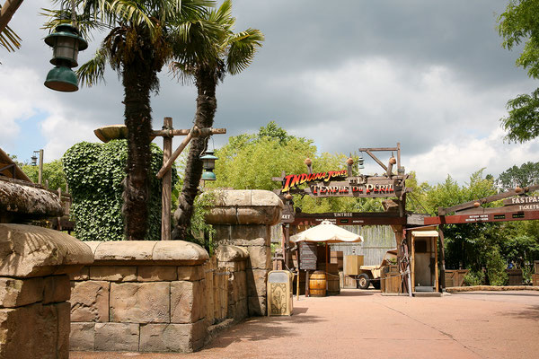 11.06. Disneyland Paris: Indiana Jones