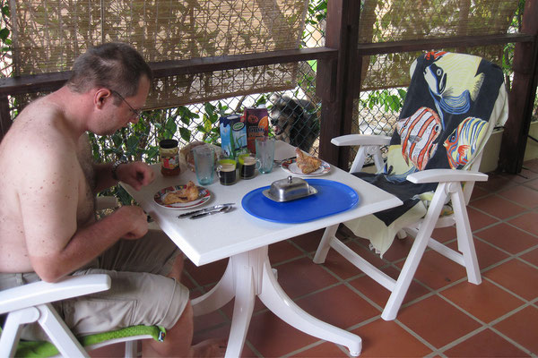Casa Bonito - Frühstück