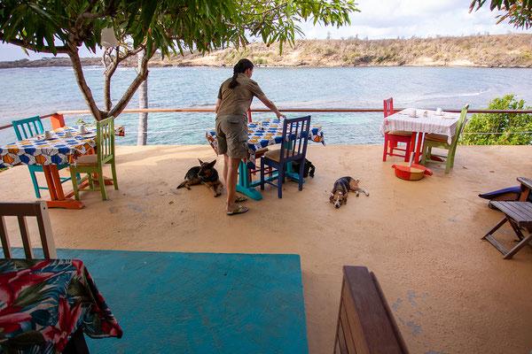 Cabier Ocean Lodge: Frühstücksterrasse