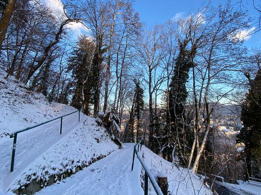 29.12. Schloßberg - Spaziergang