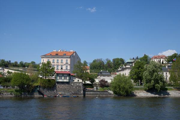 07.05. Bootsfahrt auf der Moldau