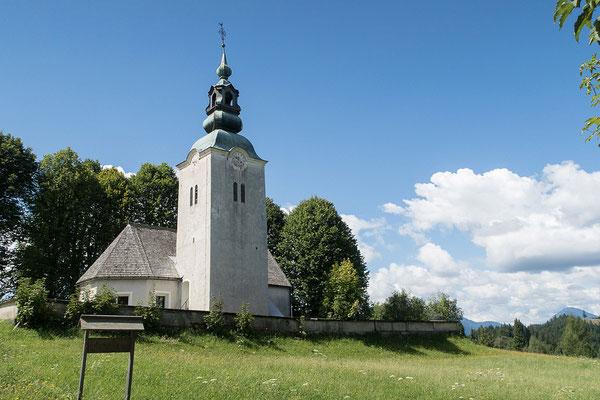 14.08. Route von Črna in Richtung Mozirje, Sveti Jost