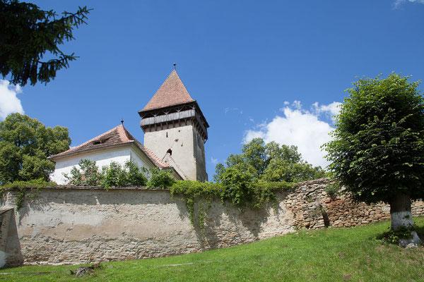 15.6. Kirchenburg  von Chirpăr