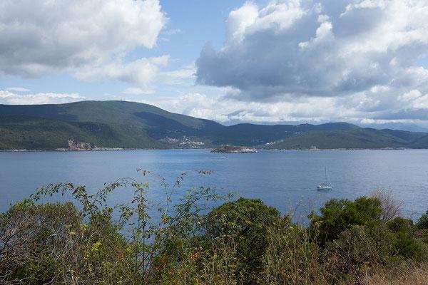 20.09. Die Prevlaka Halbinsel war zwischen dem neu entstandenen Staat Kroatien und Restjugoslawien (SRB und MNE) stark umstritten.
