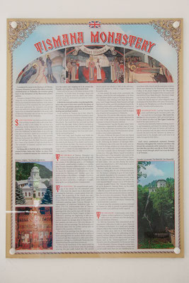 14.6. Unser erstes Ziel heute ist das rumänisch-orthodoxe Kloster Tismana, das älteste noch vorhandene Kloster der Walachei.