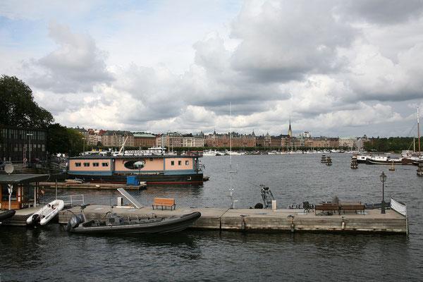 Skeppsholmsbron, Blick auf Strandvägen