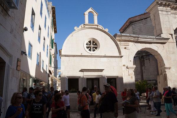 22.09. Split - Diokletianspalast (Peristyl)