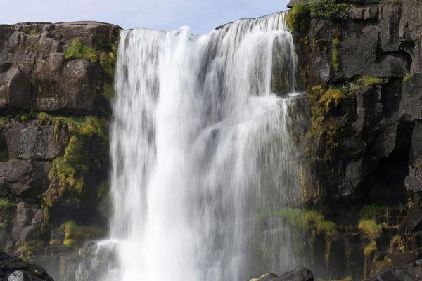 11.8. Þingvellir - Öxarfoss in der Allmannagjá