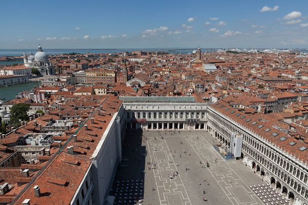 02.07. Blick auf die Piazza San Marco