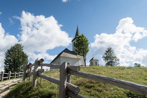 13.08. Solčava Panoramastrasse, Cerkev Svetega Duha