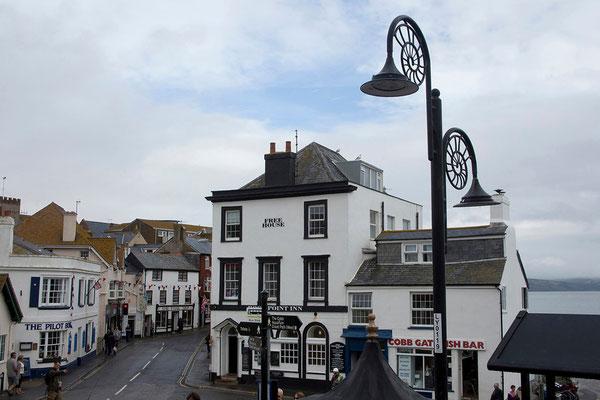 13.09. Lyme Regis ist für seine Fossilienfunde bekannt