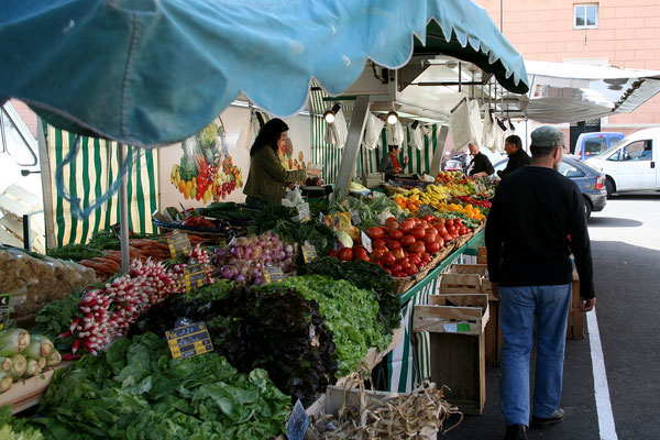 31.5. Am Markt in Ajaccio