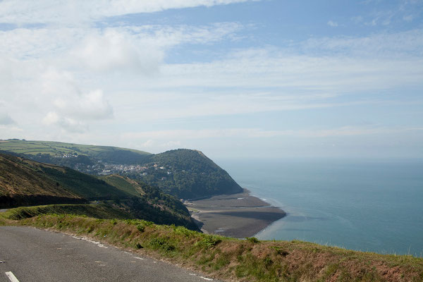 05.09. Blick auf Lynmouth