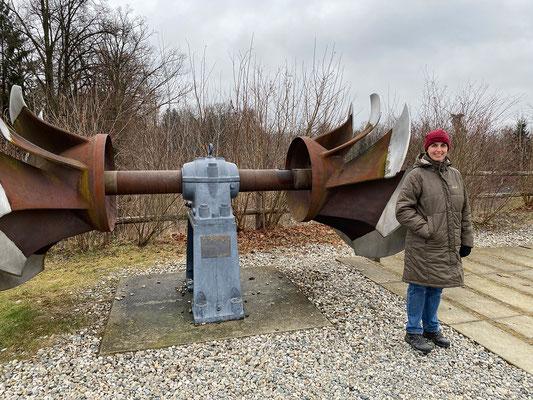 24.1. Entlang der Mur: Murkraftwerk Gössendorf